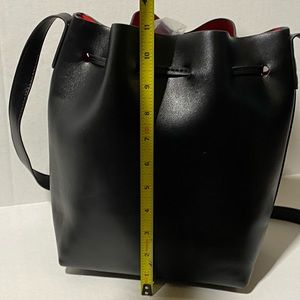 Bags - Black Bucket Bag with Wristlet included